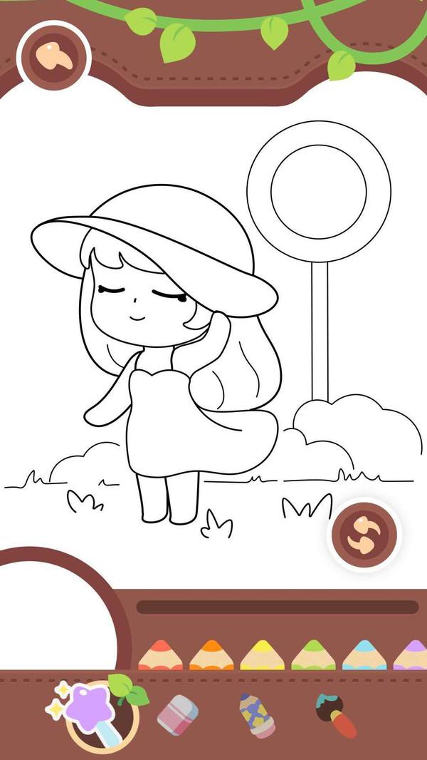 宝宝咪啦画画