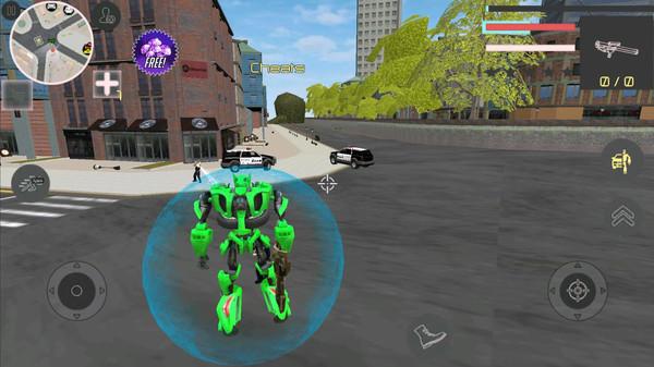汽车机器人大战