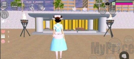 樱花校园模拟器怎么下载房子?最新房子下载更新地址[多图]图片1