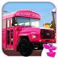 粉红女士校车司机