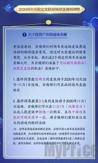 王者荣耀五周年庆典活动方案:五周年庆典返场皮肤名单[多图]图片3