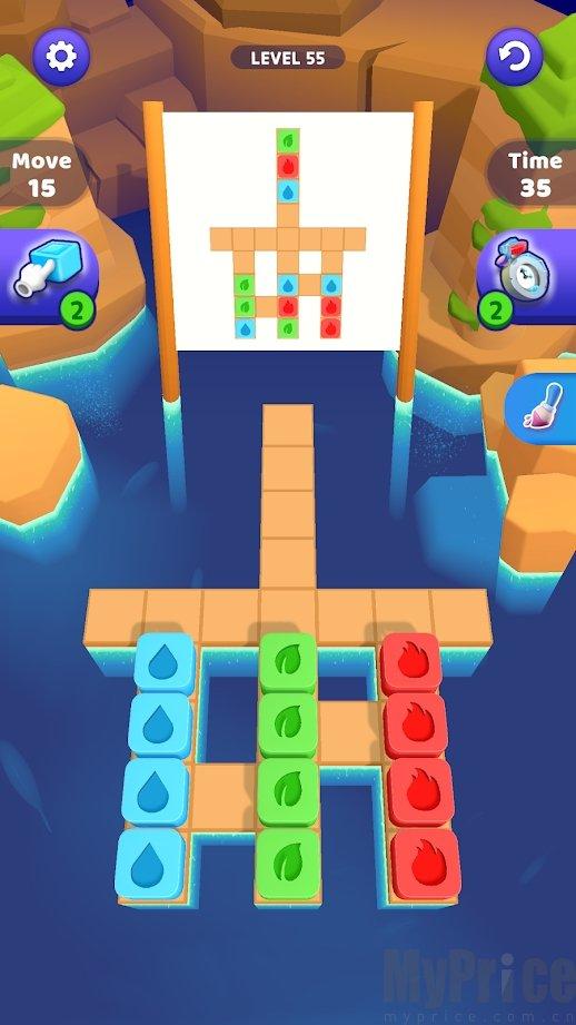 砖块堆叠3d