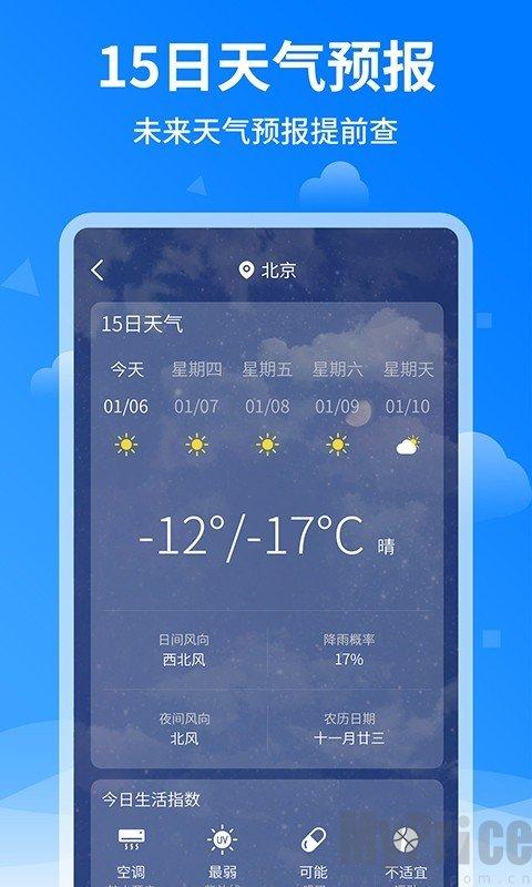 诸葛天气预报