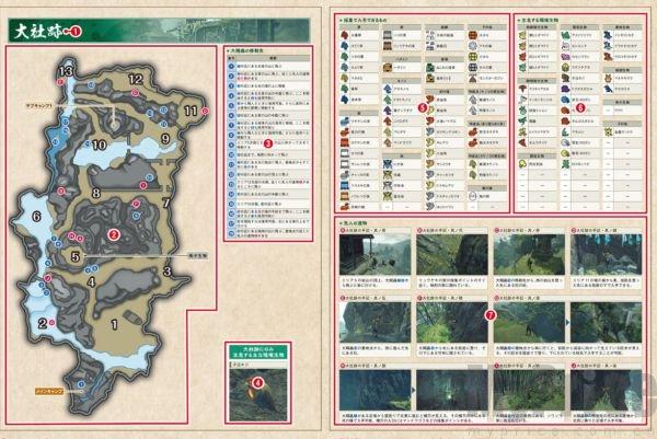 怪物猎人崛起副营地位置汇总 全地图副营地位置图文一览图片2