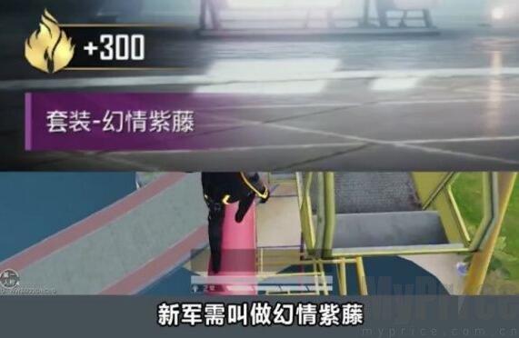 和平精英幻情紫藤军需多少钱?幻情紫藤军需什么时候上线图片2